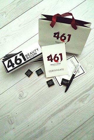 Подарочные сертификаты в салон красоты